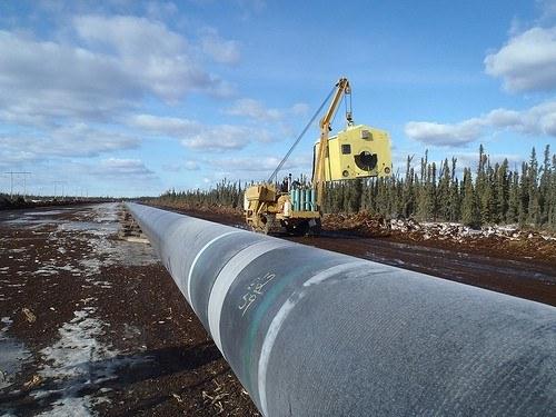 pipeline de bitume