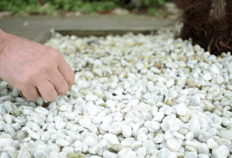Paillage minéral à Castries